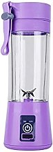 HEIYANQUANZZJ Juicers, 380ml USB Rechargeable