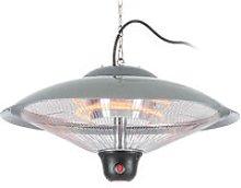 Heizsporn Ceiling Heater 60.5 cm LED Lamp Remote