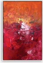 Helena Izett - 'Autumn Abstract' Framed