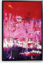Helena Izett - 'Red Pink Purple Abstract'