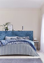 Helena Springfield Blue Chambray Bedding Set -