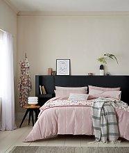 Helena Springfield Blush Chambray Bedding Set -