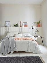 Helena Springfield Grey Woven Spot Bedding Set -