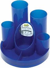 Helix R40076 Desk Tidies Blue