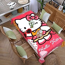 Hello Cartoon Kitty 59 Inches X 107.9 Inches Color