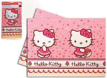 Hello Kitty 54837 Plastic Tablecloth, Polycarbonate