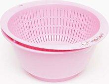 Hello Kitty Pink Colander & Salad Bowl Se