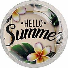 Hello Summer   Modern Minimalist Printing Cupboard