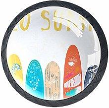 Hello Summer Surfing Cabinet Door Knobs Handles