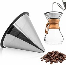 HelloCreate Coffee Filter, Stainless Steel Coffee