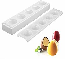 HELLOGIRL Silicone Mold 3D Egg Shape Mould for