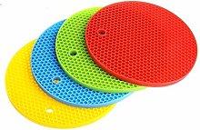 HelpCuisine Premium Silicone Trivet Mats/Hot Pads,