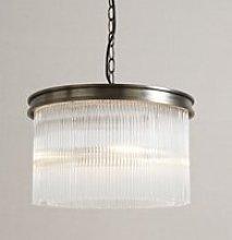 Helston Small Chandelier Ceiling Light, Antique