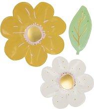 HEMA 10 Paper Plates 22.5 Cm Flower