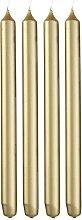 HEMA 4 Long Household Candles Ø2.2x29 Gold (gold)