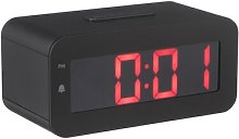 HEMA Alarm Clock Digital LED (black)
