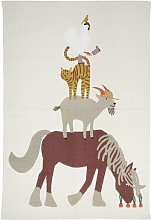 HEMA Carpet 100x150 Animals