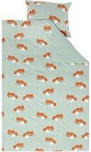 HEMA Children's Duvet Cover Flannel - Fox -