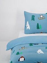 HEMA Children's Duvet Cover Flannel - Winter