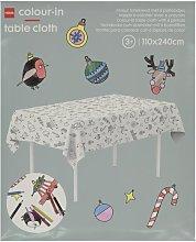 HEMA Colouring Tablecloth 240x110