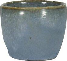 HEMA Egg-cup 5 Cm - Porto Reactive Glaze - Blue