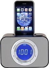 HEMA IPod Radio Alarm Clock (black)