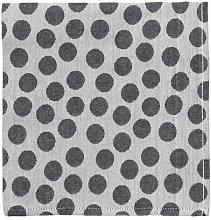 HEMA Kitchen Textile - Dots - Black Theedoek