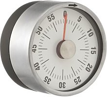 HEMA Kitchen Timer Magnetic (silver grey)