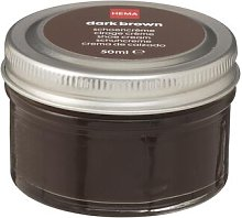 HEMA Shoe Cream Dark Brown