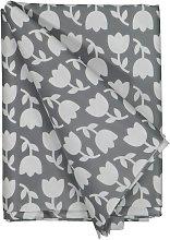 HEMA Table Oil-cloth 140x240 Polyester - Tulips