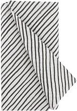 HEMA Tablecloth 120 X 180 Cm (black/white)
