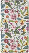 HEMA Tablecloth - 138 X 220 - Paper - Flowers