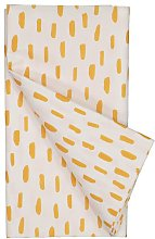 HEMA Tablecloth 138x220 White/orange