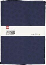 HEMA Tablecloth 140x250 Damask Cotton - Blue Dot