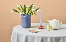HEMA Tablecloth Ø180cm Chambray Grey
