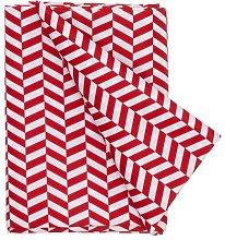 HEMA Tablecloth 200 X 140 Cm (red)