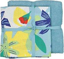 HEMA Tea- And Kitchen Towel - Blue