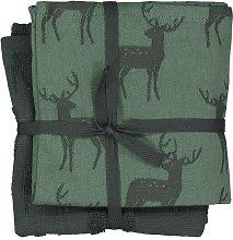 HEMA Tea- And Kitchen Towel - Deer