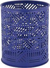HEMA Tea Light Holder Ø10.5x12.5 - Metal Blue (blue)