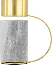 HEMA Tea Light Holder 10cm - Marble/metal (multi)