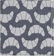 HEMA Tea Towel 65x65 Cotton - Blue Croissant