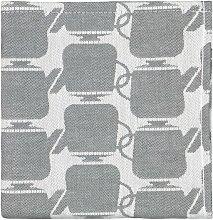 HEMA Tea Towel 65x65 Cotton - Grey Teapot