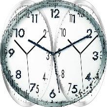 HEMA Wall Clock 30 Cm (silver)