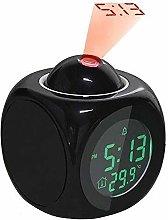 Heman779t Projection Alarm Clock,Digital Alarm