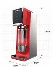 HEMFV Portable Ice Maker Machine Sparkling Water