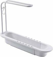 Hemisgin Telescopic Storage Basket for Sink Soap