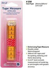 Hemline Flat Extra Long 300cm Tape Measure Tailor
