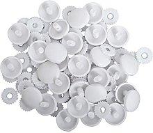 Hemline Self Cover Buttons Shells Trims Plastic