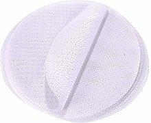 Hemoton 10 Pcs Round Steamer Pad Mat Silicone
