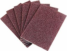 Hemoton 10pcs Emery Cleaning Sponges Scrubbers for
